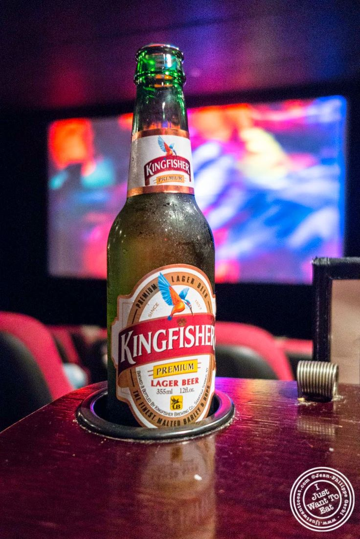 image of Kingfisher beer at The NiteHawk Movie Theater in Brooklyn, NY