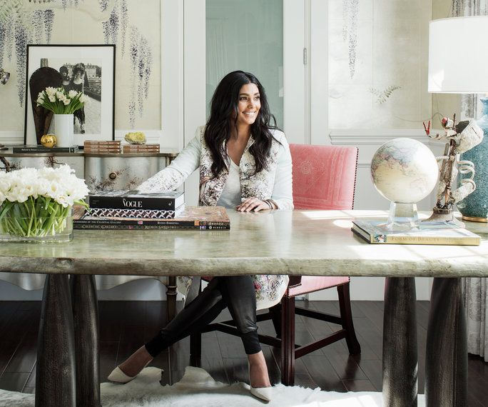 Rachel Roy's stylish home office redesign will give you major inspo.