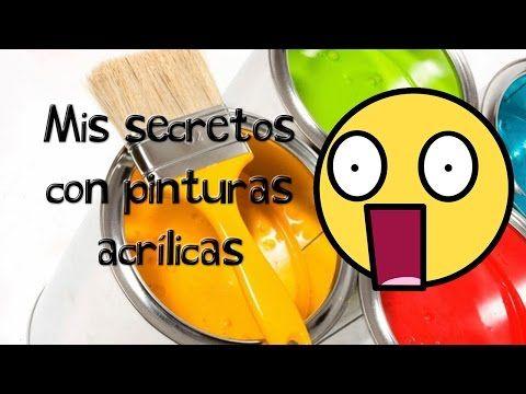 Pintura Acrilica: Como Pintar con Acrilicos de Tubo *Acrylic Paint* Tecnica español Pintura Facil - YouTube