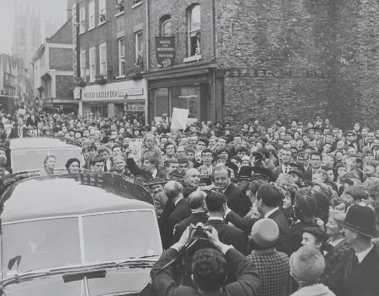 Kings Square, York 1964 General Election with Alec Douglas Home