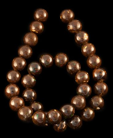 Product No.259 – Queensland Boulder Matrix Beads on http://www.opalessence.net.au