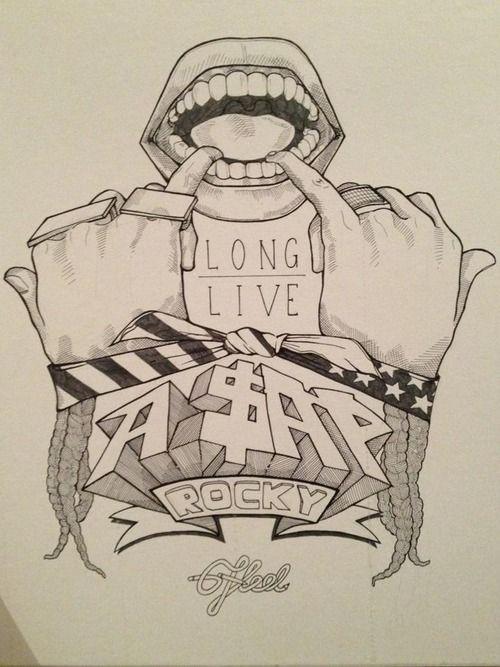 Long Live ASAP ROCKY                     - By Fudge.