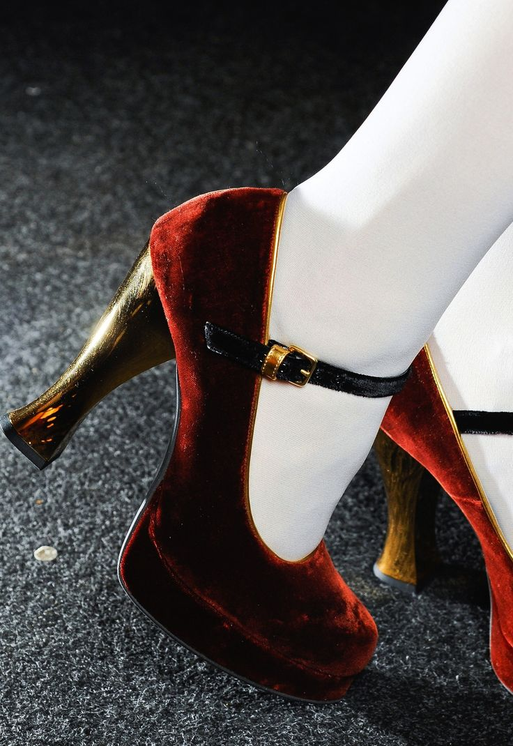 Mary Janes yes please - Marni Fall 2012 shoes are adorably saucy.