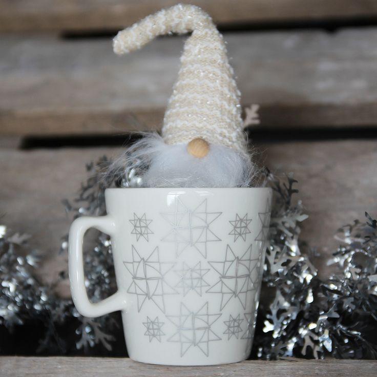 Tähti silver mug from Christmas collection 2017
