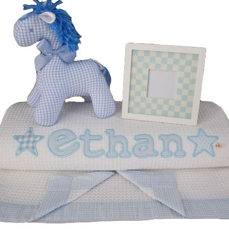 36 best personalised baby blankets images on pinterest luxury waffle personalised baby blanket negle Images