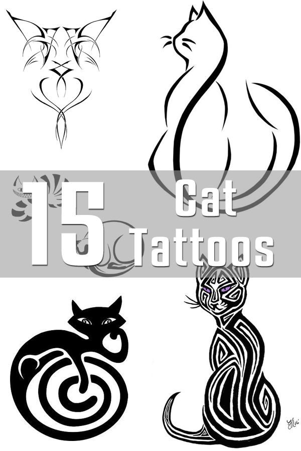 15 Cat Tattoo Designs | The Body is a Canvas