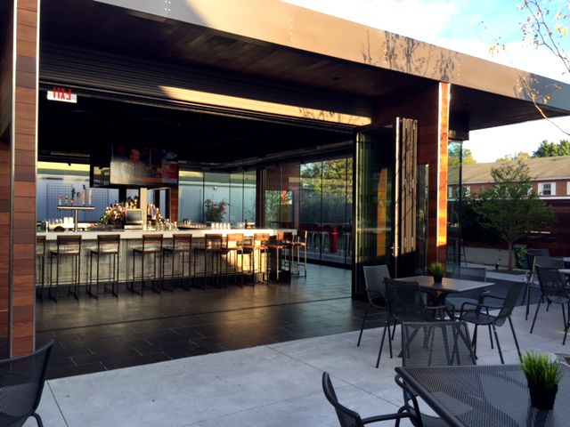 New Outdoor Dining   In Philly   P_Square Lounge!