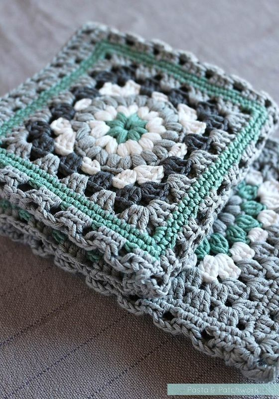 Green Crochet Afghan Pattern : 25+ Best Ideas about Granny Square Afghan on Pinterest ...