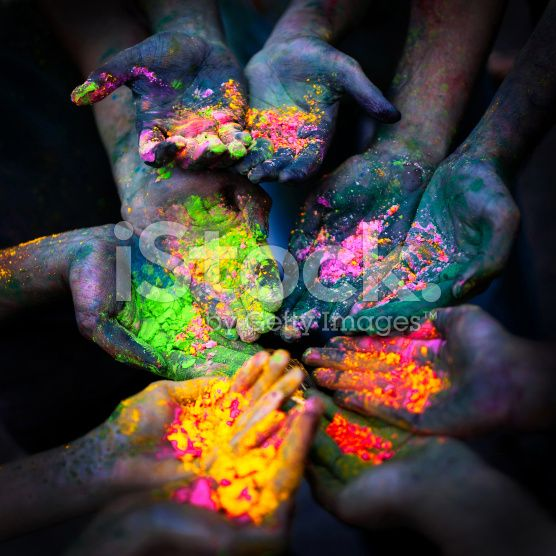 Holi Festival royalty-free stock photo
