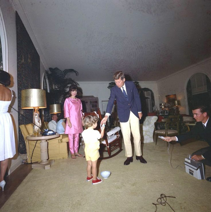 The Kennedy's Easter in Palm Beach, Florida, 1963 ♡✿♡❁♡✾♡✽♡❃♡☀♡ http://en.wikipedia.org/wiki/Palm_Beach,_Florida