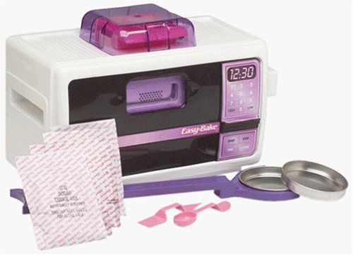 i seriously want an easy bake oven again.