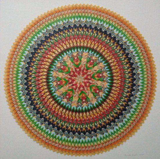 Mandala Teabag folding
