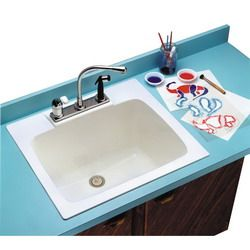 What Builder Provided Mustee 10 Durastone Utility Sink