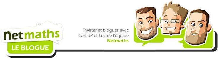 Le blogue de Netmath publie très souvent et tient informé sur les concours mathématique, et les nouveautés de Netmath.