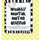 Included in this group are 24 weeks of mental math (one per week) which on average would be started in September and last till March. There is a te...