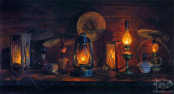 Ведерников Борис - 'Старые лампы'