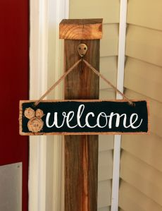 welcome signs diy - 230×299