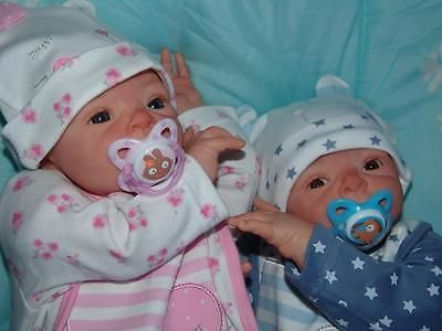 Custom made reborn newborn fake baby living doll Twins boy girl All your choice?