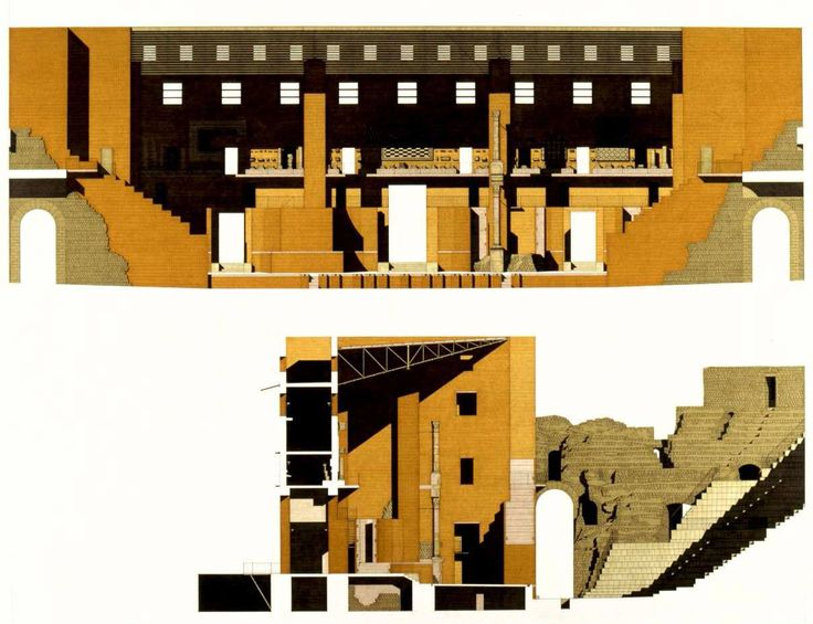 Giorgio Grassi, Manuel Portaceli Restoration and rehabilitation of the roman theater in sagunto, spain