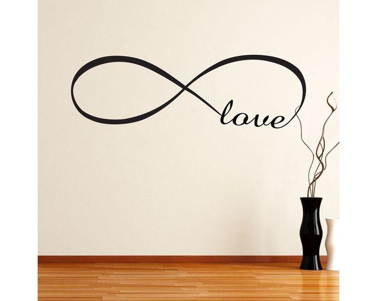 Στο άπειρο ... Αγάπη, αυτοκόλλητο τοίχου