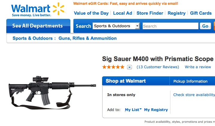 Walmart Sells Assault Weapons But Bans Music With Swear Words - Business Insider
