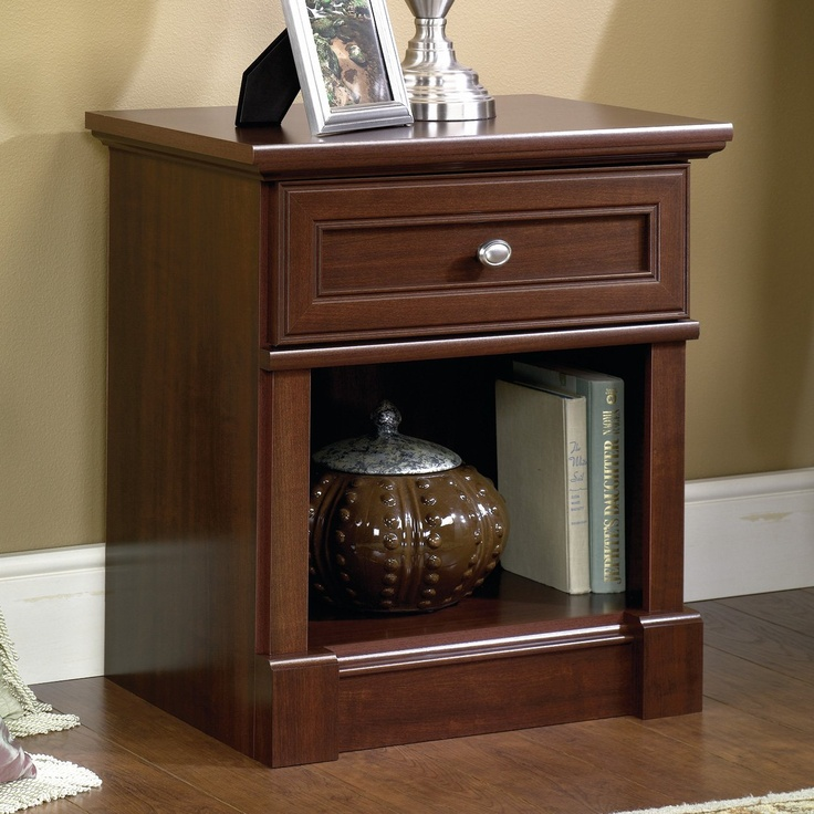 Sauder 411835 Palladia Night Stand (With images) Bedroom