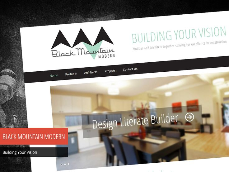 Studio 72 Web Design built a clean and simple website for Black Mountain Modern with a minimal design and a content management system which enables them to make updates to their website.