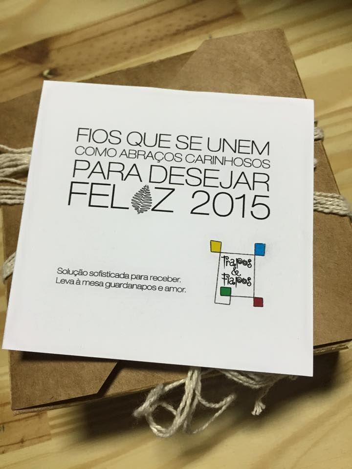 Cartão de fim de ano Trapos e Fiapos - Teresina - PI