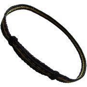 Hoedband van Paardehaar - Zwart