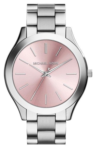 MICHAEL Michael Kors Michael Kors 'Slim Runway' Bracelet Watch, 42mm (Nordstrom Exclusive) available at #Nordstrom