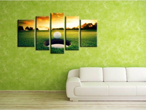 Tableau d coration murale design golf tableaux deco for Decoration murale nature