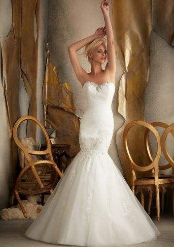 Mermaid Sweetheart Wedding Dress -dream weddings Australia wholesalers www.dreamweddingsaustralia.com.au