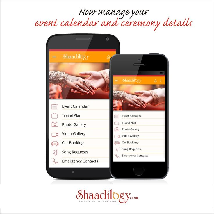 Download #shaadilogyEventApp and manage your event calendar and ceremony details for free! Hurry download now.Available both on Android and IOS.