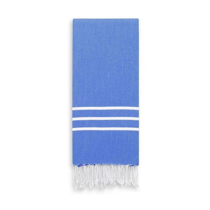 Linum Home Textiles Alara Pestemal Color Hand Towel, Blue
