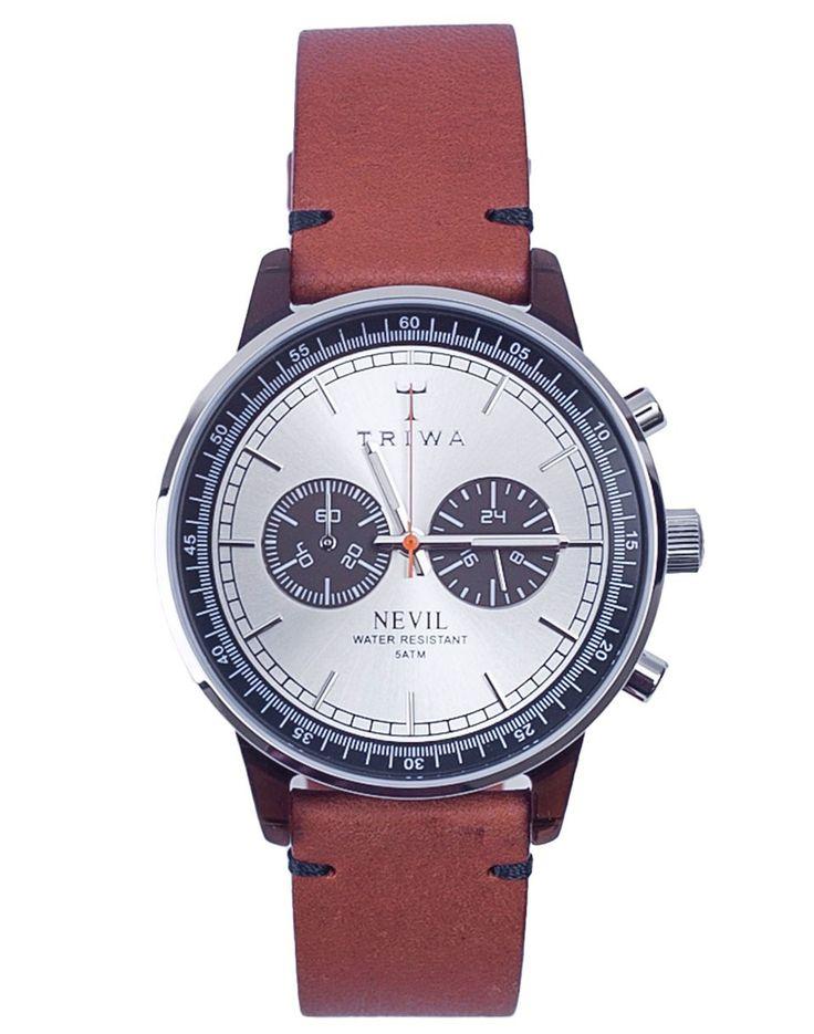 Hodinky TRIWA Havana Nevil Brown Stitch, 5899 Kč | Slevy hodinek