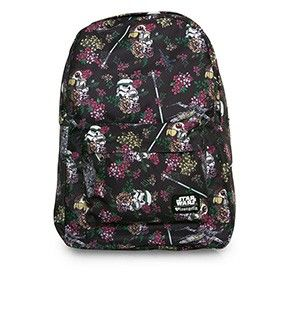 Loungefly x Star Wars Floral Stormtrooper Print Backpack