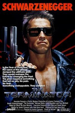 The Terminator        I'll be back - Arnold Schwarzenegger