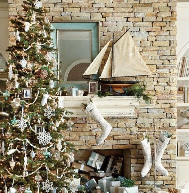 Coastal Decor For Christmas : Beach cottage holiday gift guide cottages