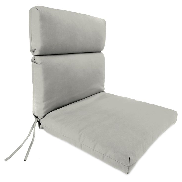 Jordan Manufacturing Sunbrella High Back 22 in. Dining Chair Cushion | from hayneedle.com