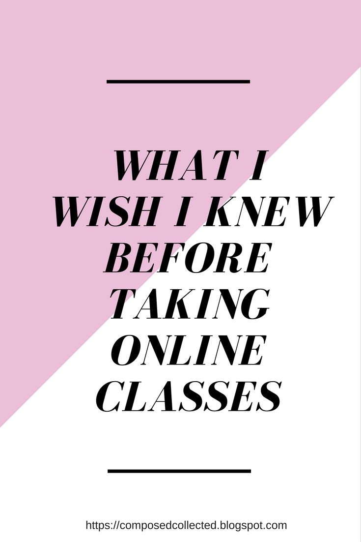 Is online the right option for you?