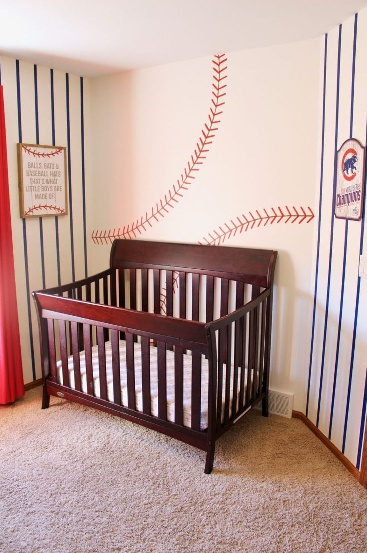 Baby Boy Baseball Bedroom
