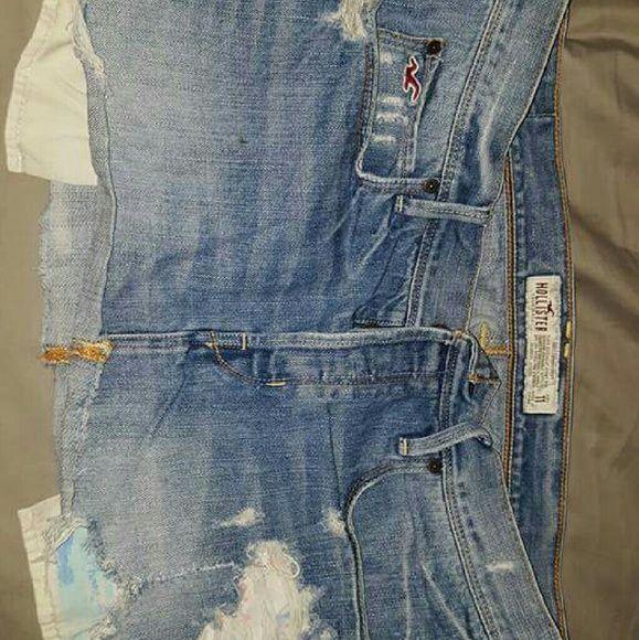 Hollister denim skirt 11 Cut off denim skirt Hollister Skirts Mini
