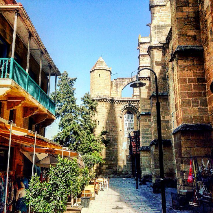 Old city in north Nicosia, North Cyprus/stare miasto w północnej Nikozji, Północny Cypr