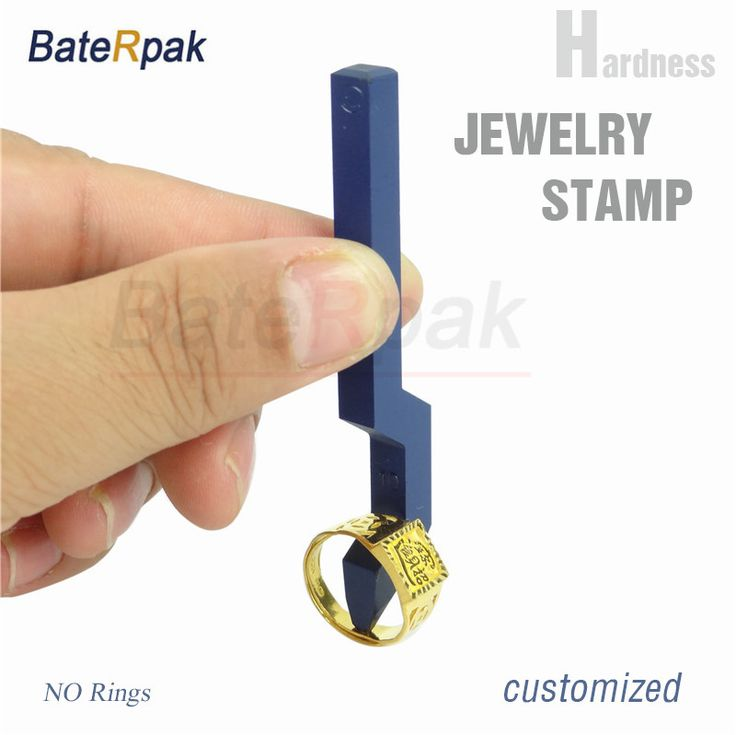 BateRpak Gold/silver jewelry stamp,Silver punch stamp Customized number stamp letters,jewelry seal,S925/925/S990/PT999 stamp