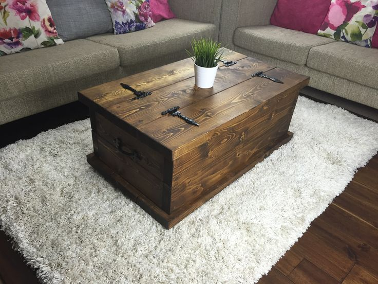 Rustic Chest Coffee Table