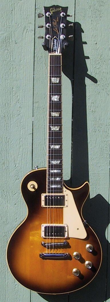 1979 Gibson Les Paul Standard Tobacco brown burst