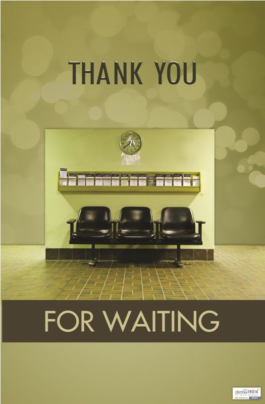 Thank you for your waiting
