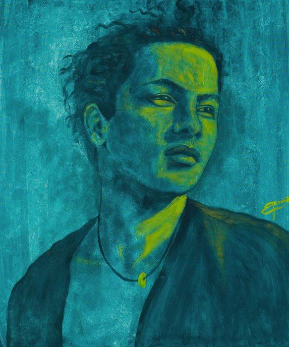 Simon Acrilic on canvas 100x120 cm