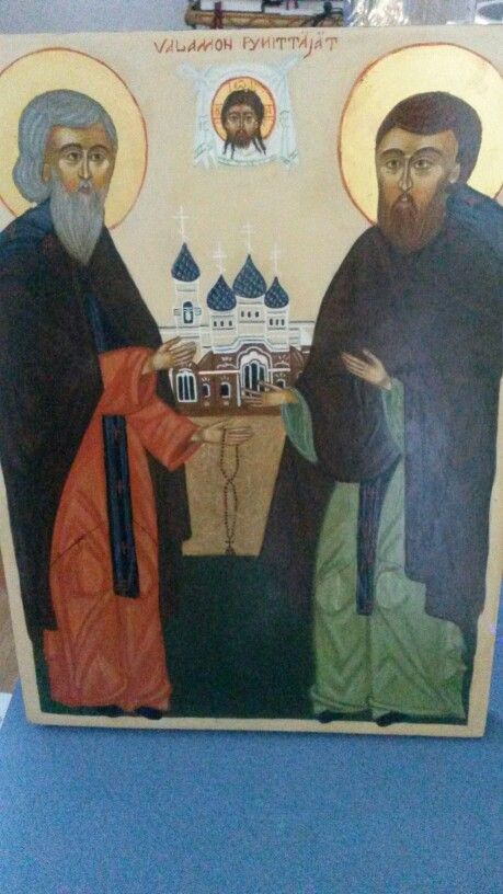 St. Sergei And Herman Valaam