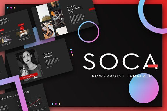 SOCA Powerpoint Template by Maspiko on @creativemarket